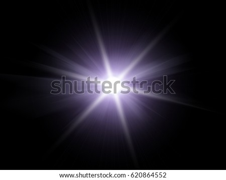 White light special effect against a dark background ilustration. #620864552