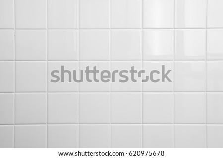 white tile background Royalty-Free Stock Photo #620975678
