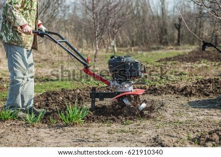 Plowed the garden #621910340