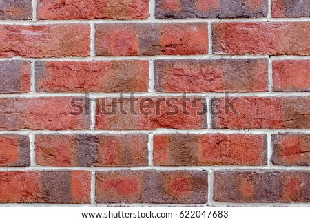 old red brick wall texture background #622047683