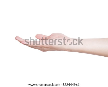 Hand (hand, holding, gesture) #622444961