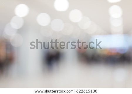 Blurred of shopping plaza #622615100