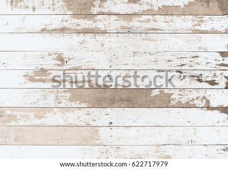 wooden board white old style abstract background objects for furniture.wooden panels is then used.horizontal Royalty-Free Stock Photo #622717979