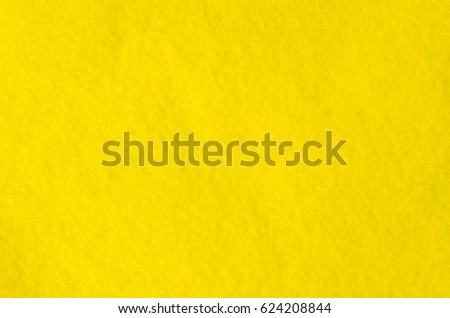 Fragment of bright yellow cloth microfiber. Pile texture. Background image. #624208844