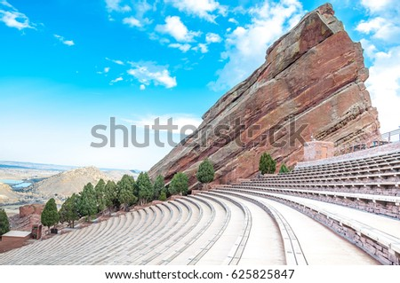 Historic Red Rocks Amphitheater near Denver, Colorado #625825847