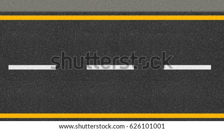 Asphalt highway texture  #626101001