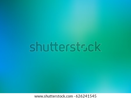 Light blue, green vector modern elegant background. Shining colored illustration in a brand-new style. The blurred design can be used for your web site.