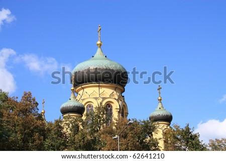 Orthodox Church from Warsaw, Poland. #62641210