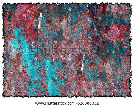 Grunge background red turquoise. Grunge background color for text #626886332