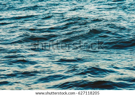Ocean Waves Abstract Background Texture Royalty-Free Stock Photo #627118205