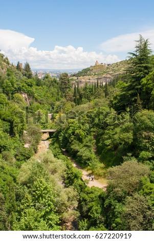 Botanical garden in Tbilisi, Georgia #627220919