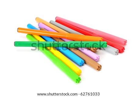 soft-tip pen isolated on a white background #62761033