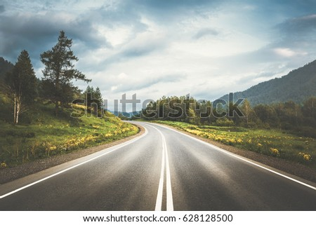country highway #628128500