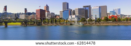 Portland Oregon Skyline, OR. #62814478