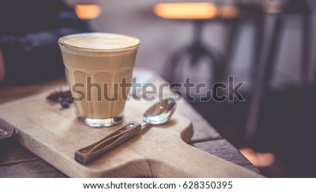 Hot coffee cappuccino #628350395