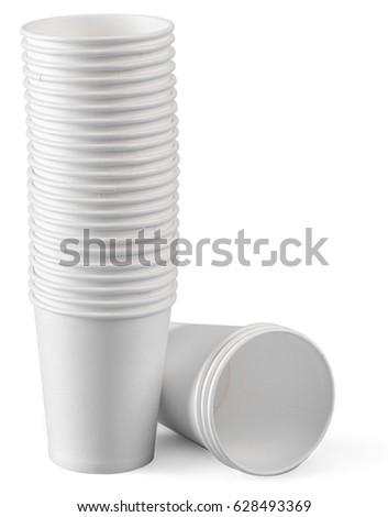 White  mug isolated #628493369