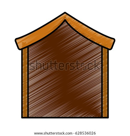manger stable isolated icon #628536026