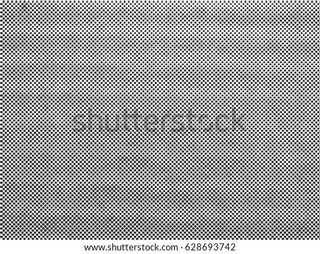 Grunge halftone background. Halftone dots vector texture. #628693742