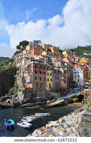 Riomaggiore town, Cinqueterre, Liguria, Italy #62873212