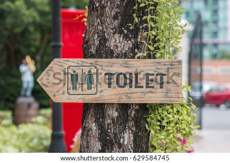 Signs toilet