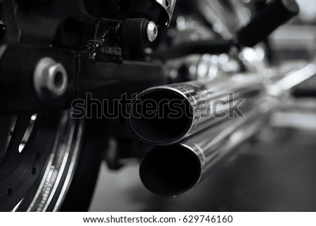 Exclusive heavy bike ready hitting the road #629746160