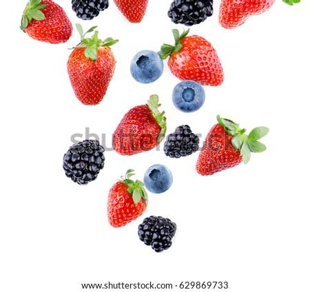 Berries falling. #629869733