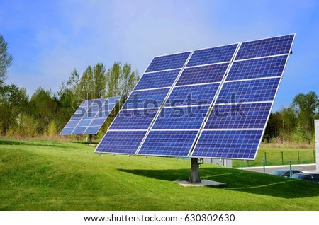 Solar Panels, Solar Power Energy, Renewable Energy  #630302630