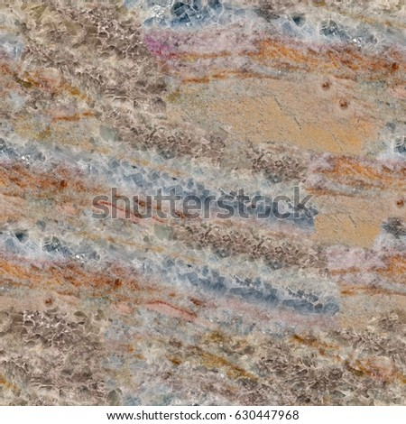 Close up of colorful marble texture. Seamless square background, tile ready. High resolution photo. #630447968