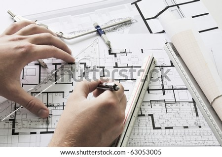 architect during work #63053005