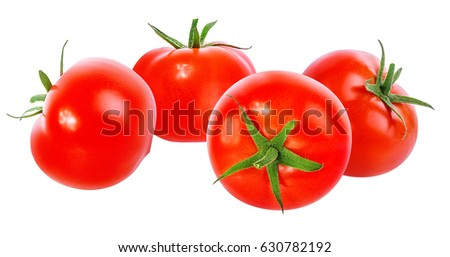 tomato isolated on white background #630782192