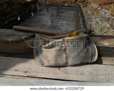 Construction worker bag #631208729