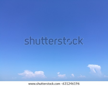 Blue sky and small cloud at the button that the good background texture #631246196