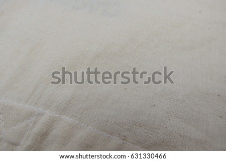 off white cotton fabric texture useful as a background #631330466