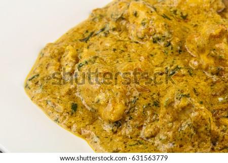 Indian traditional cuisine - Chicken tikka masala #631563779