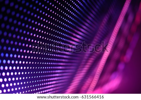 Abstract Led wall background  #631566416
