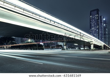 city night scenes at shenzhen,china #631681169