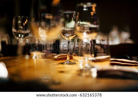 Luxury Table setting.   #632165378