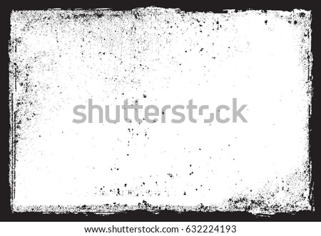 Vector grunge frame.Grunge background. Royalty-Free Stock Photo #632224193