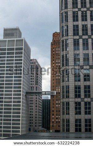 Downtown Detroit, Michigan. Cityscapes, Architecture, and Culture.