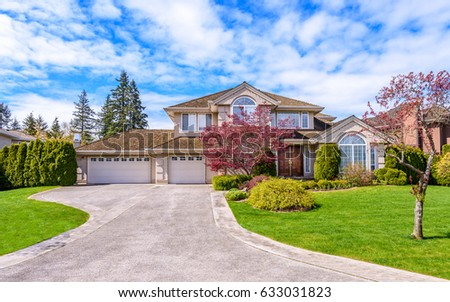 Luxury house in Vancouver, Canada. #633031823