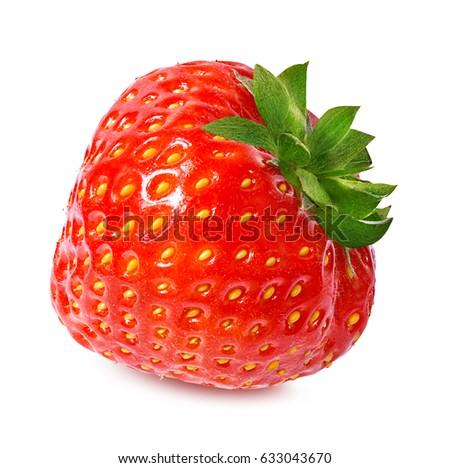 Strawberry on white background #633043670