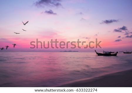 Blurred background sunlight,