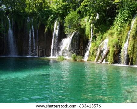 Plitvice lakes #633413576