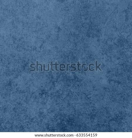 Blue designed grunge background. Vintage abstract texture #633554159