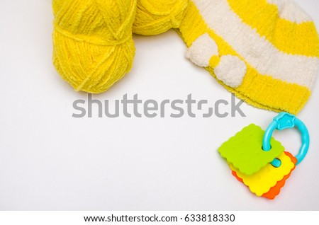 Knitting of children's clothes #633818330