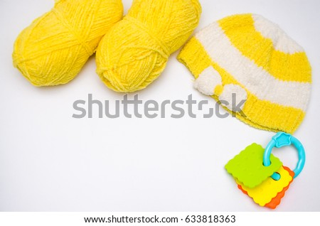 Knitting of children's clothes #633818363