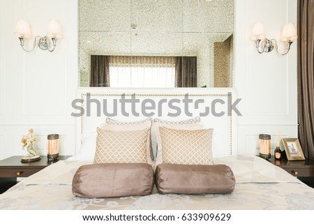 Beautiful Interior design modern Bedroom #633909629