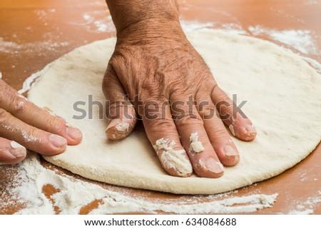 Making pizza #634084688
