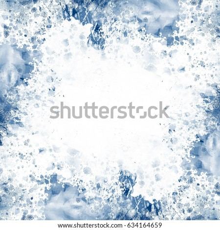 Abstract artistic watercolor splash background #634164659