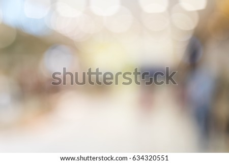 Blur of the store #634320551